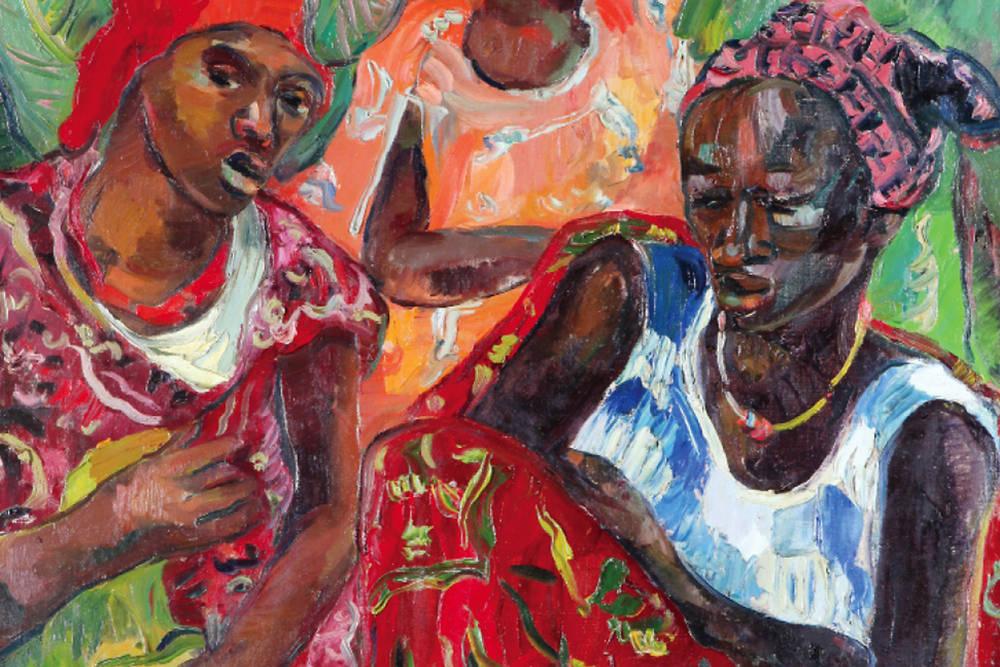 Peinture africaine contemporaine