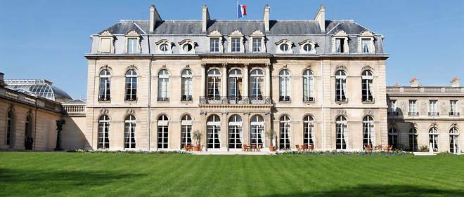 Le Palais de l'Élysée, construit en 1720, est la résidence officielle des présidents de la République depuis 1873.