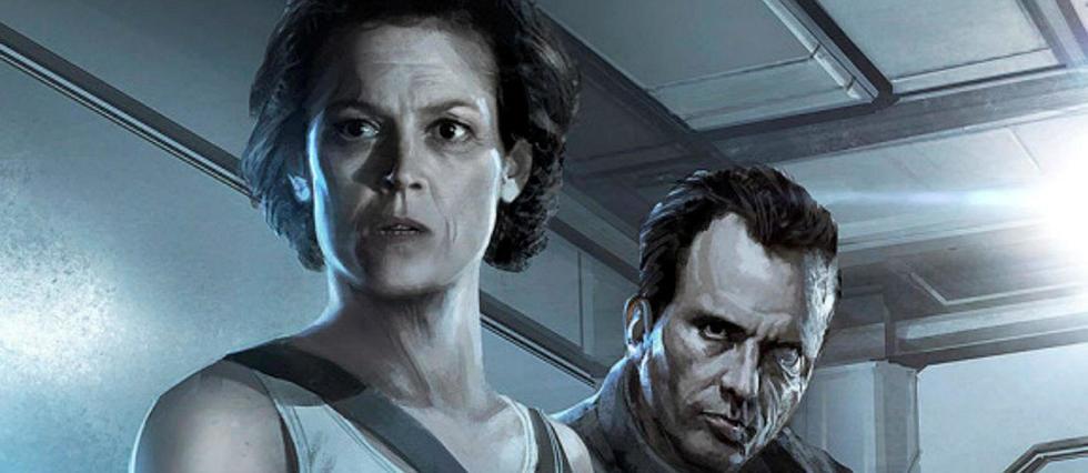 Concept art de Neil Blomkamp pour Alien 5.
