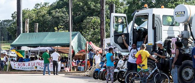 Pendant plus d'un mois, des barrages ont paralysé la Guyane.