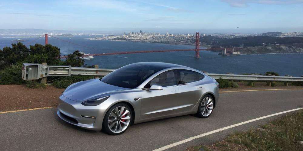 Tesla Model 3 ©  DR