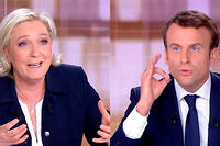 Le débat de l'entre-deux-tours entre la candidate du Front national et celui d'En marche ! a été d'une rare violence.