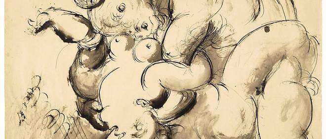 Tout-puissant. «Minotaure violant une femme» (28 juin 1933), de Pablo Picasso. Lemaître a rencontré Marie-Thérèse Walter, et il exerce alors son «sadisme pictural» sur Olga, dont il se sépare en 1935.