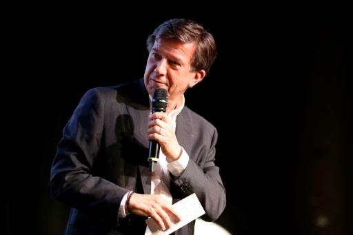 Le président du groupe TF1-LCI Gilles Pélisson lors d'une conféren,ce de presse à Boulogne-Billancourt le 25 août 2016 © MATTHIEU ALEXANDRE AFP/Archives
