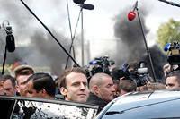 Le candidat d'En Marche !Emmanuel Macron a été élu président de la République française après une campagne présidentielle chaotique à l'issue inattendue. ©Thibault Camus/AP/SIPA