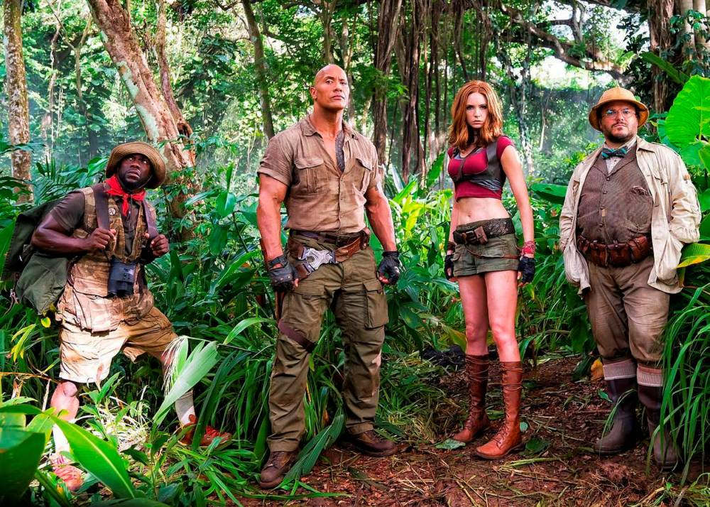 Jumanji ©  Sony Pictures