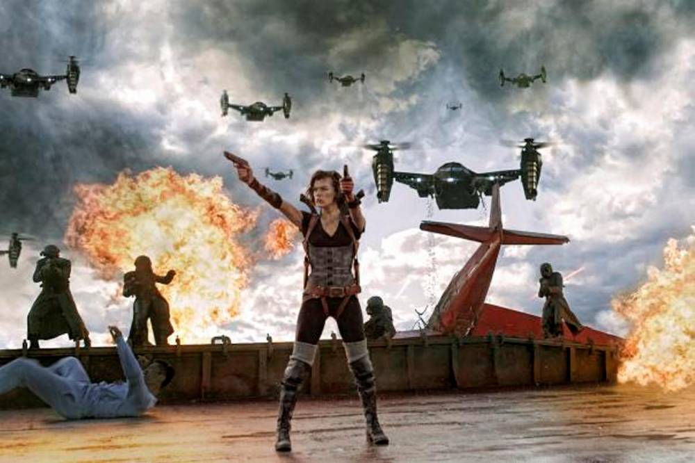 Resident Evil ©  Sony Pictures