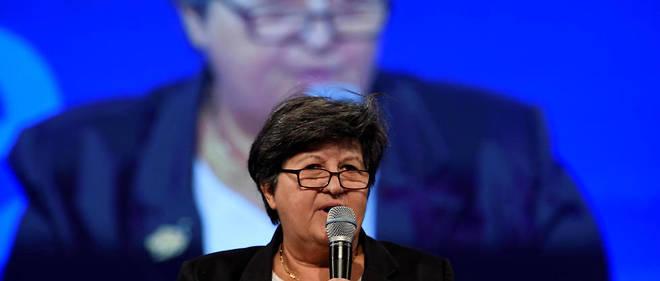Catherine Barbaroux, nouvelle présidente du mouvement En marche ! fondé par Emmanuel Macron.