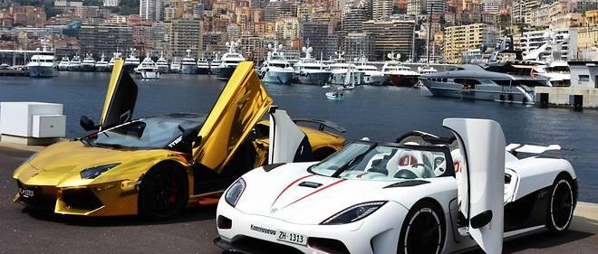 Les supercars, visées par un malus de 10 000 euros en Fance, sont mieux accueillies à Monaco