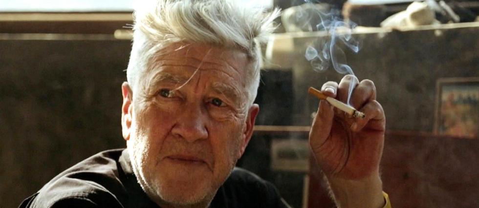 """Le cinéaste dans le documentaire David Lynch - """"The Art Life"""" (2017)."""