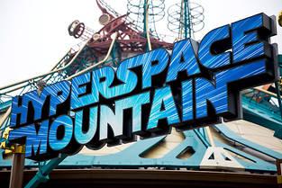 Space Mountain fait peau neuve en incorporant l'univers de Star Wars. ©Cassanas Simon