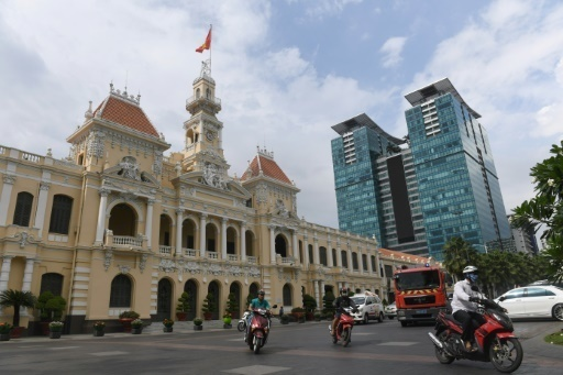 Le charme de l'ancien Saigon menace par les tours modernes
