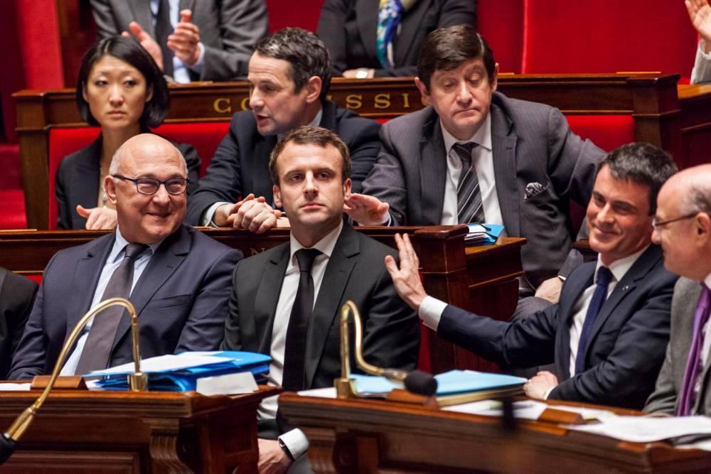 FRANCE-POLITICS-ECONOMY © CITIZENSIDE/AURLIEN MORISSARD