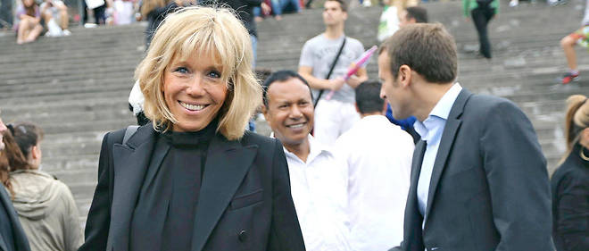 Dechainement Sexiste Contre Brigitte Macron Le Point