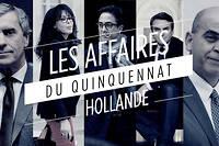 La présidence Hollande a été émaillée par six affaires. La dernière implique Bruno Le Roux qui démissionne après des révélations compromettantes. ©AFP