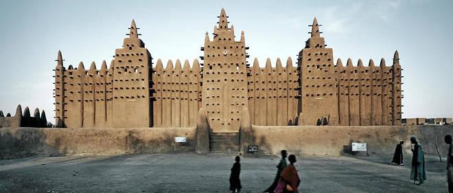 """Mosquée de Djenné, au Mali. L'une des magnifiques photos présentées lors de l'exposition de l'Institut du monde arabe """"Trésors de l'islam en Afrique. De Tombouctou à Zanzibar""""."""
