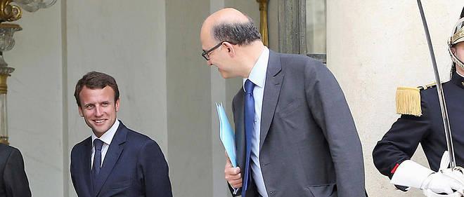 Pierre Moscovici et Emmanuel Macron ont travaillé ensemble lorsque l'un était ministre des Finances et l'autre secrétaire général de l'Élysée, puis lorsque le premier a été nommé à la Commission européenne et l'autre à Bercy.