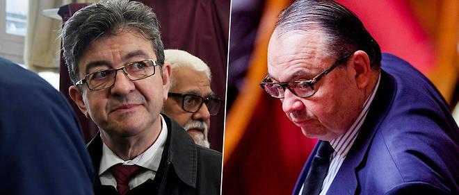 Jean-Luc Mélenchon et Patrick Mennucci