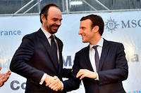 Édouard Philippe, Premier ministre Les Républicains du nouveau président Emmanuel Macron.