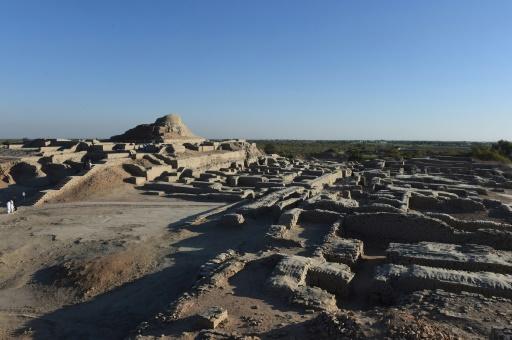 Le site de Mohenjo Daro, l'une des plus anciennes cités au monde, le 9 février 2017 au Pakistan © ASIF HASSAN AFP