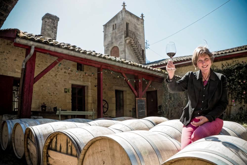 Viticulteur,  Stella Puel, chateau Bardins. © Sebastien ORTOLA/REA Sebastien ORTOLA/REA / REA / Sebastien ORTOLA/REA