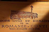 Caisse de Romanée-Conti.