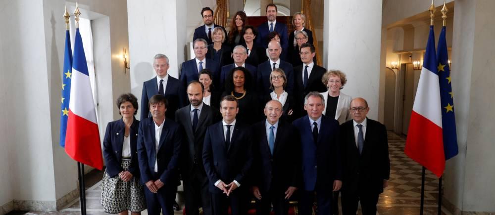 Le Premier Gouvernement De L Ere Macron