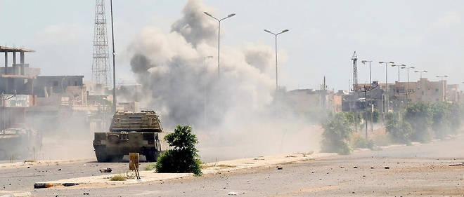 La base de Brak al-Shati est située à 650 kilomètres au sud de Tripoli. (Illustration)