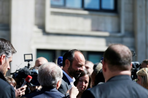 Le Premier ministre Edouard Philippe au Havre, le 20 mai 2017 © CHARLY TRIBALLEAU AFP