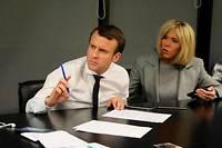 Emmanuel et Brigitte Macron dorment désormais à l'Élysée... ©Dominique Jacovides / Sebastien Valiela / Bestimage