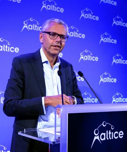 Le directeur général d'Altice Michel Combes, à Paris le 5 septembre 2016  © ERIC PIERMONT AFP/Archives
