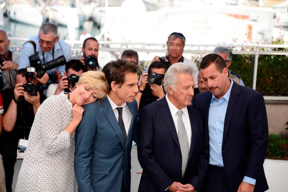 Crew of the film 'The Meyerowitz Stories', 2017 Cannes Film Fe.. © Jacky Godard Jacky Godard / Jacky Godard / Photo12