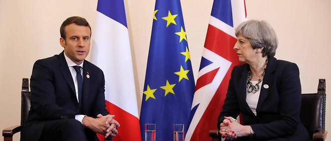 Le président français a affirmé ses positions quant au Brexit.