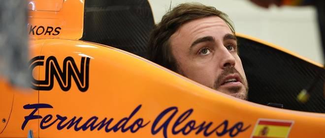 Alonso, flamboyant à Indianapolis