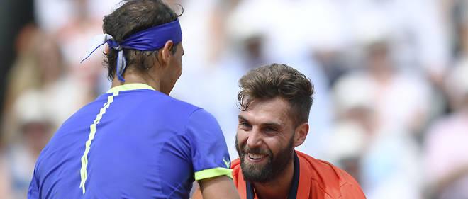Benoît Paire n'a rien pu faire face à Rafael Nadal.