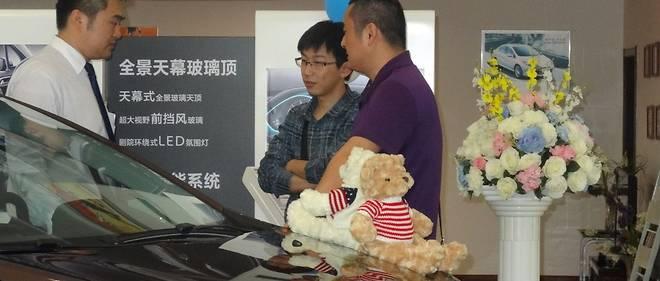 La livraison d'une voiture est une fête en Chine et un achat qui engage pour longtemps.