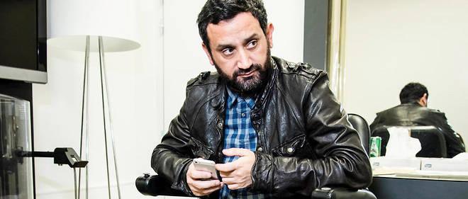 Cyril Hanouna, producteur, animateur de télévision, dans les locaux de D8.
