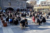 Dans le centre historique de Diyarbakir, principale ville kurde de Turquie.  ©ILYAS AKENGIN