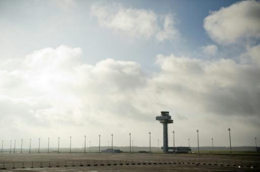 La tour de contrôle de l'aéroport de Berlin-Brandebourg (BER) à Shönefeld (nord-est de l'Allemagne), le 13 novembre 2013 © ODD ANDERSEN AFP/Archives