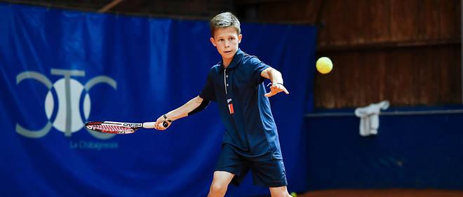 Cesar représente la France aux Longines Tennis Future Aces, un tournoi qui regroupe des enfants du monde entier.