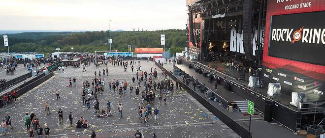 Le festival a été évacué.