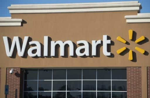 Le géant de la distribution américain Wal-Mart se sert de la technologie Blockchain pour tester le cheminement des mangues aux Etats-Unis et celui des porcs en Chine © SAUL LOEB AFP/Archives