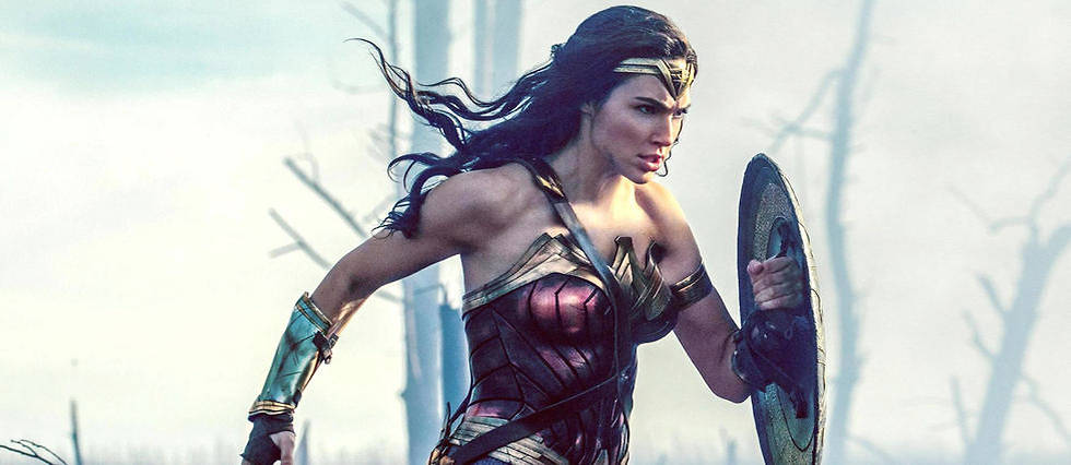 Gal Gadot dans la premiere adaptation au cinema du comics Wonder Woman.