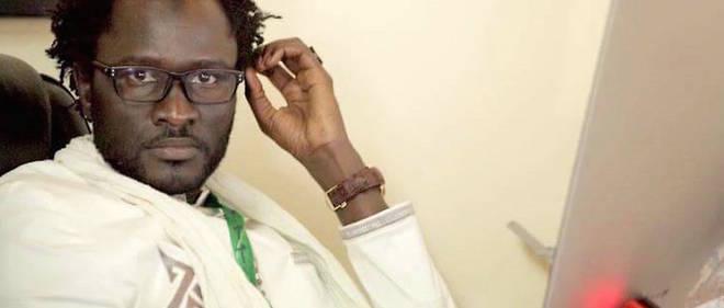 Le cyberactiviste Cheikh Fall.