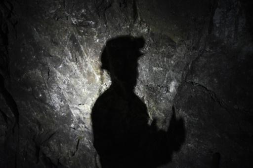 Riche en zinc et en plomb, ce sous-sol exploité depuis l'Antiquité contient une soixantaine de minéraux, dont de l'or et de l'argent. © Armend NIMANI AFP