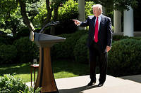 Donald Trump ©BRENDAN SMIALOWSKI/AFP