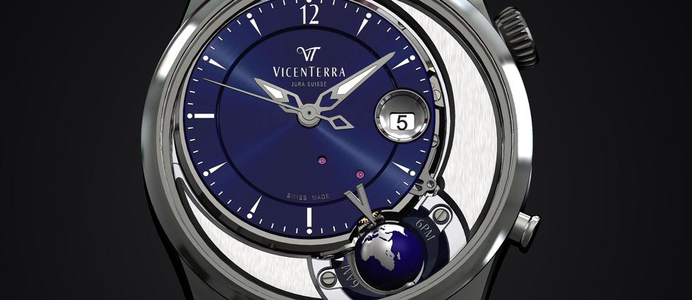 Tycho Brahe, la nouvelle création de l'horloger indépendant Vicenterra.