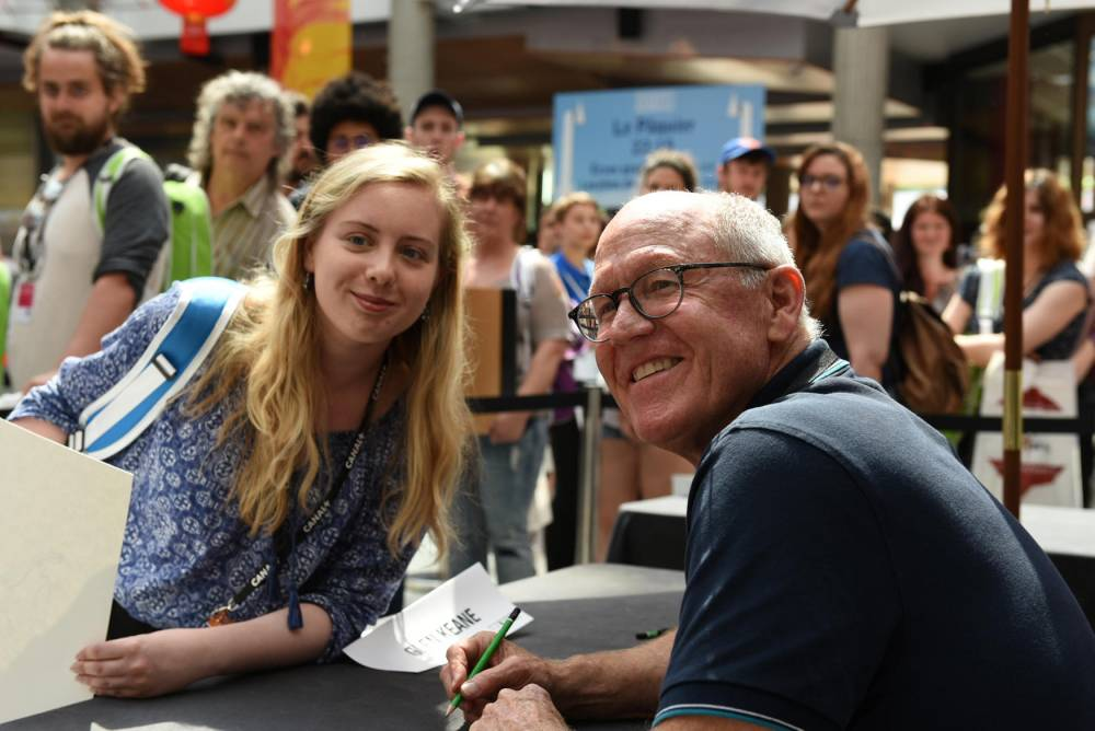 "Ddicaces/Signing Sessions  Glen KEANE, ""Dear Basketball"" ©  DR"