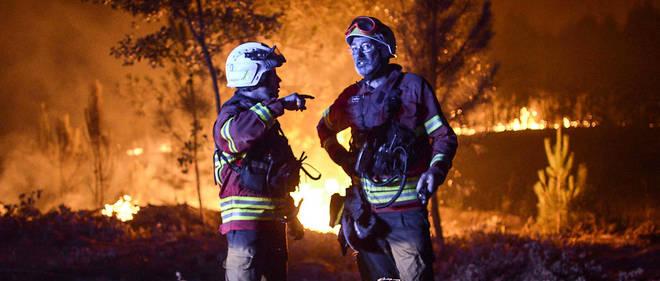 Le Portugal est en proie à des températures caniculaires et les autorités ont écarté la piste d'un incendie criminel.