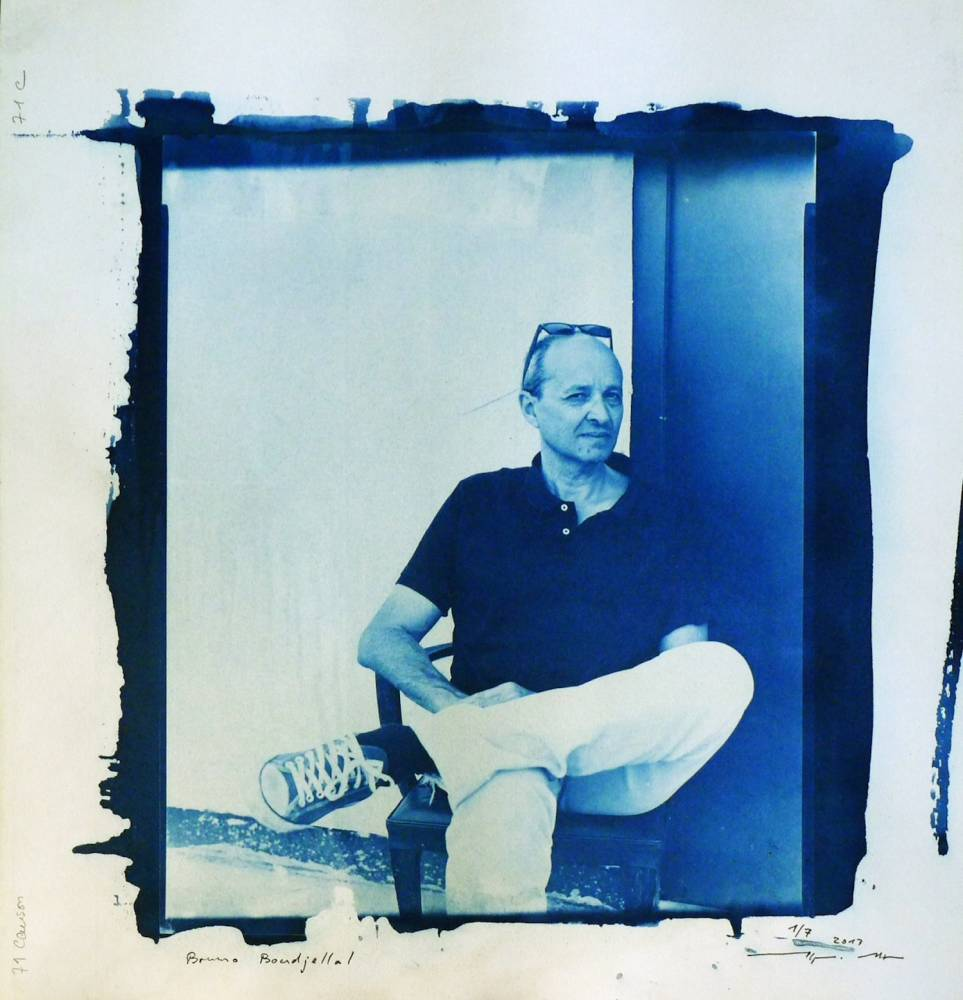Bruno Boudjelal, de l'agence VU. ©  Alfons
